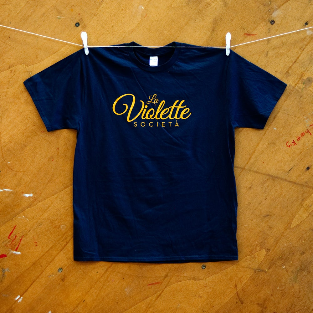 Image of Violette Social T-shirt (Blue)