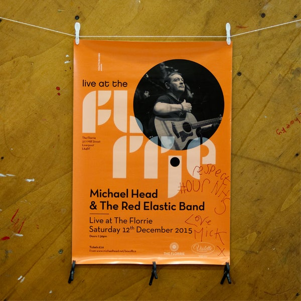 Image of Mick Head @ The Florrie Poster