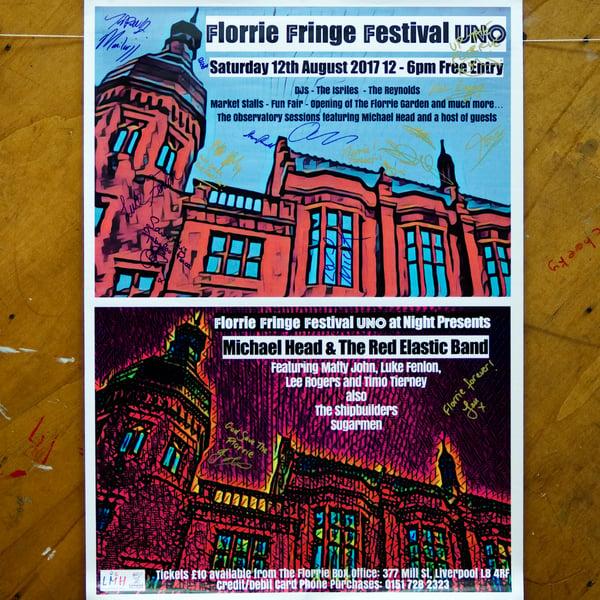 Image of Florrie Fest Poster Signed