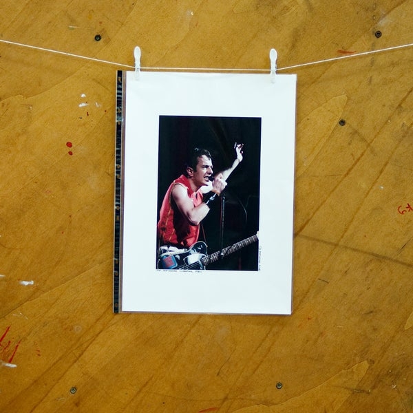 Image of The Clash/Joe Strummer Photo Prints (Large)