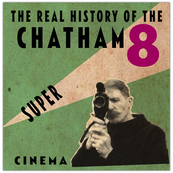 Image of Billy Childish Chatham Super 8 DVD