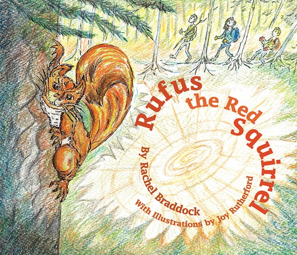 Image of Rufus the Red Squirrel