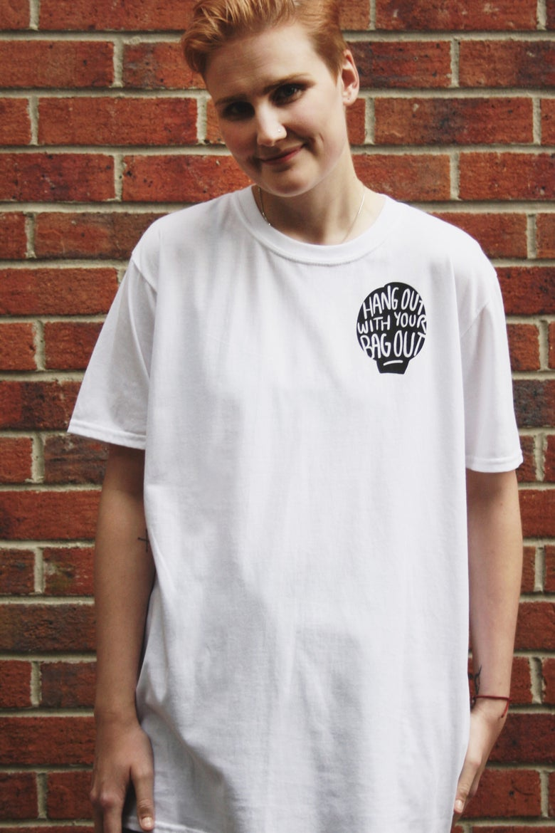 Image of Hang Out T Shirt - White