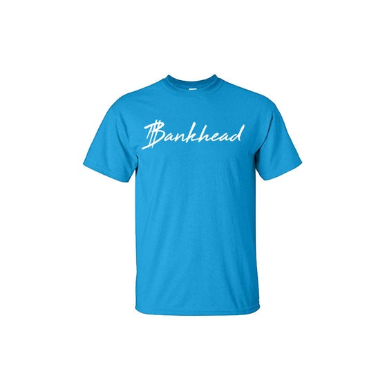 Image of Turquoise Blue Bankhead Signature Tee