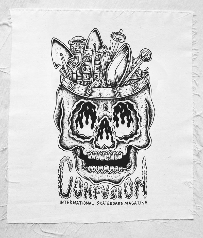 Image of DIY SKULL - Confusion Back Patch