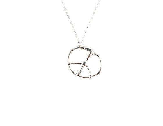 Image of Peace Pendant Necklace
