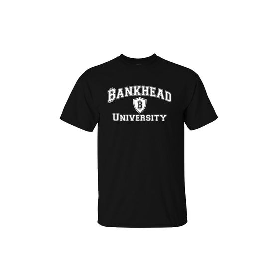 Image of Black Bankhead University tee