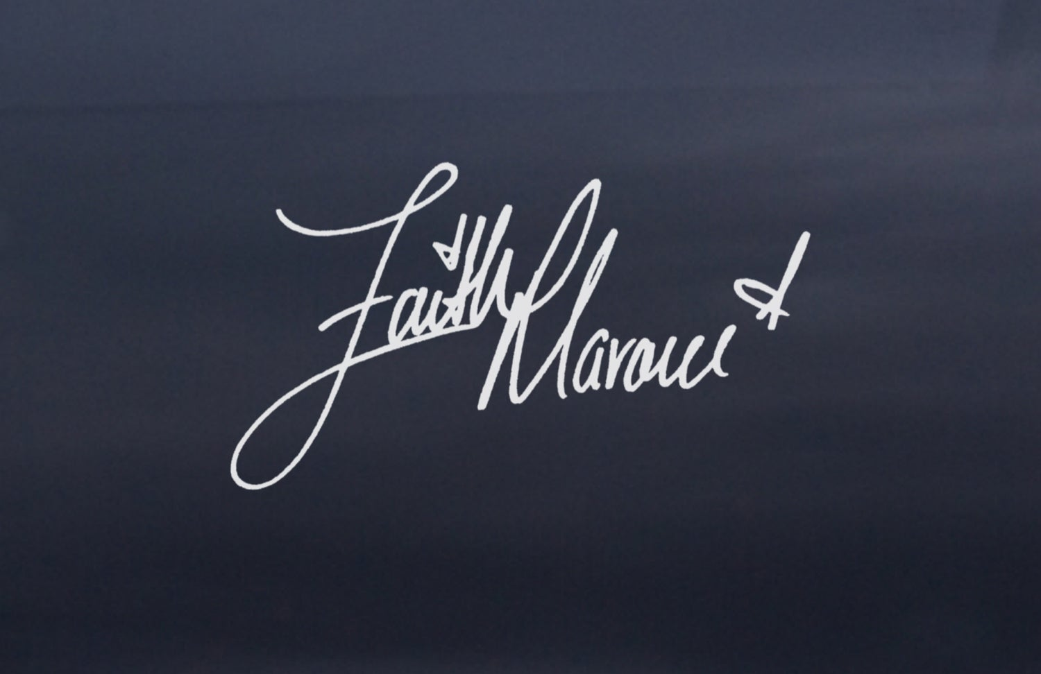 Image of Signature Faith Decal