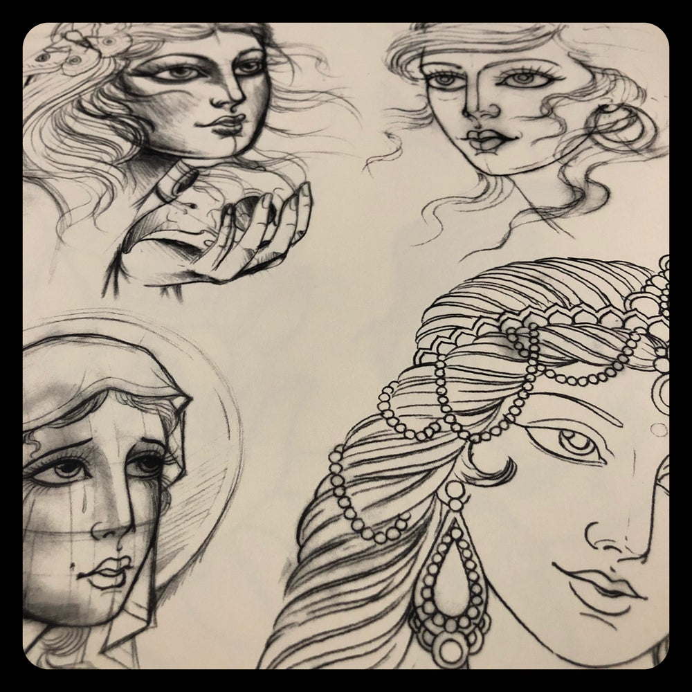 Image of ROUGH SKETCHES VOL.1
