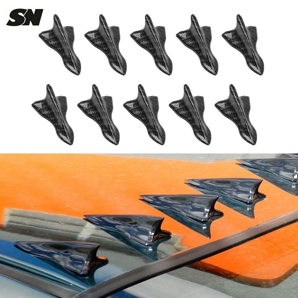 Image of (All Sentras) Air Vortex Generator for Sentra Roof (Carbon Fiber Style)
