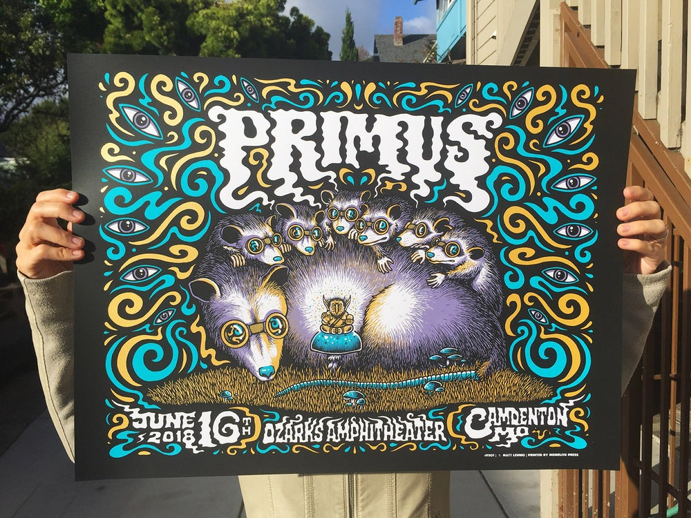 "Image of Primus @ Camdenton MO - 2018 - ""MIDNIGHT"" edition"