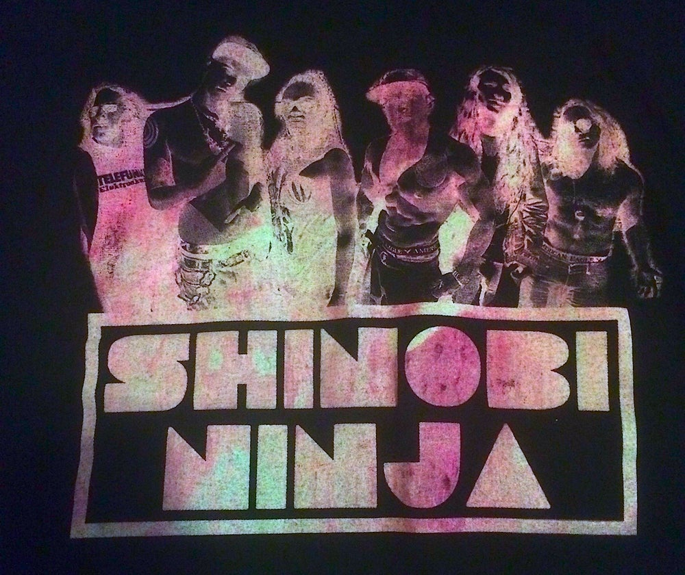 Image of Pink Lava Shinobi Ninja Band Shirt