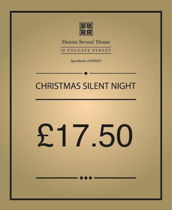 Image of 'Christmas Silent Night' Evening/twilight
