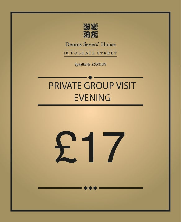 Image of Private group visit evening