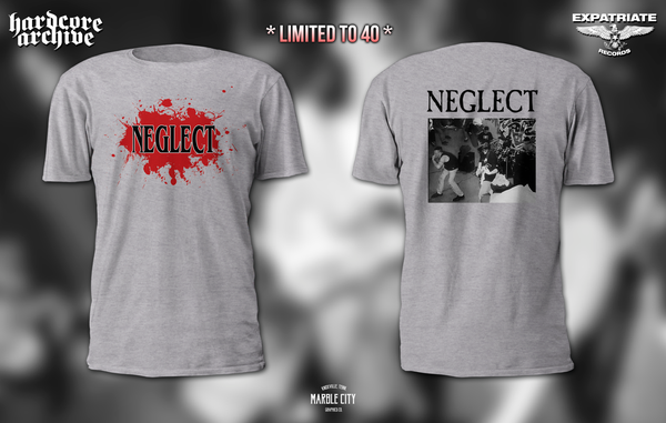 Image of Neglect promo shirt preorder #2