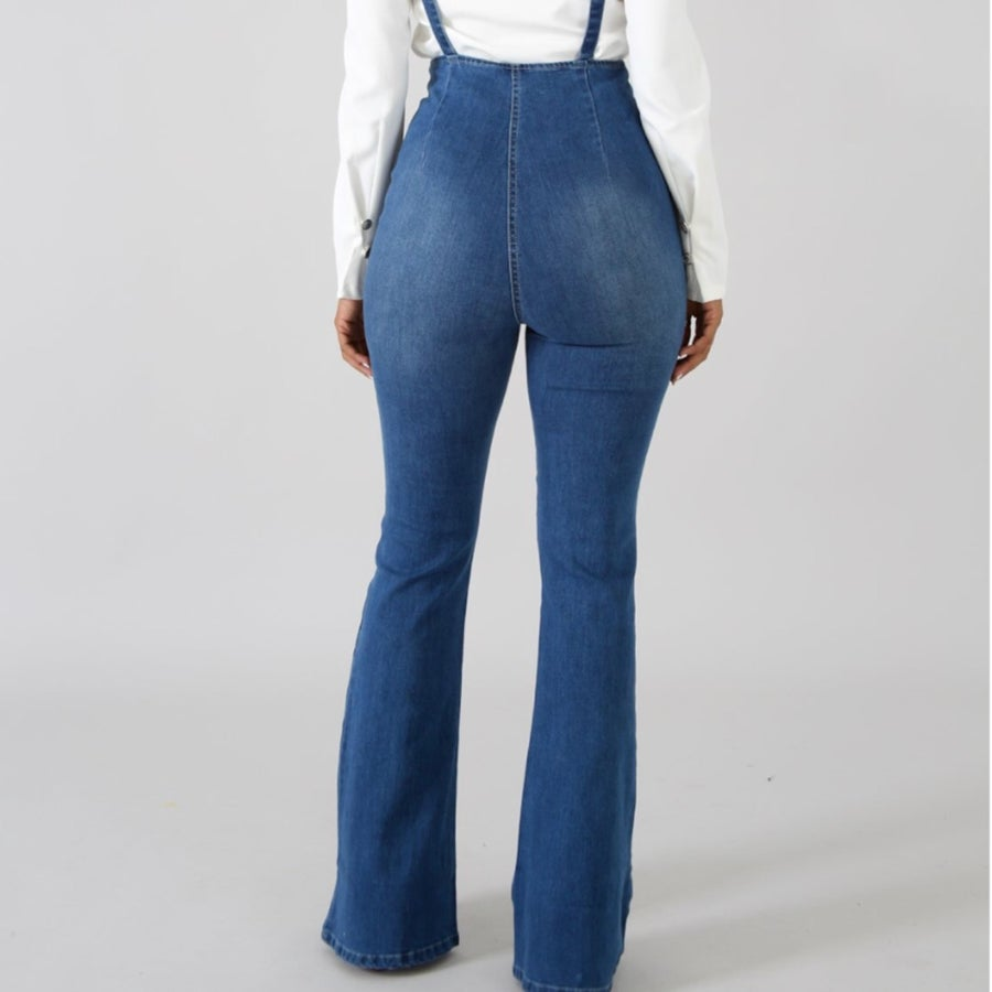 Image of Ofelia denim overall