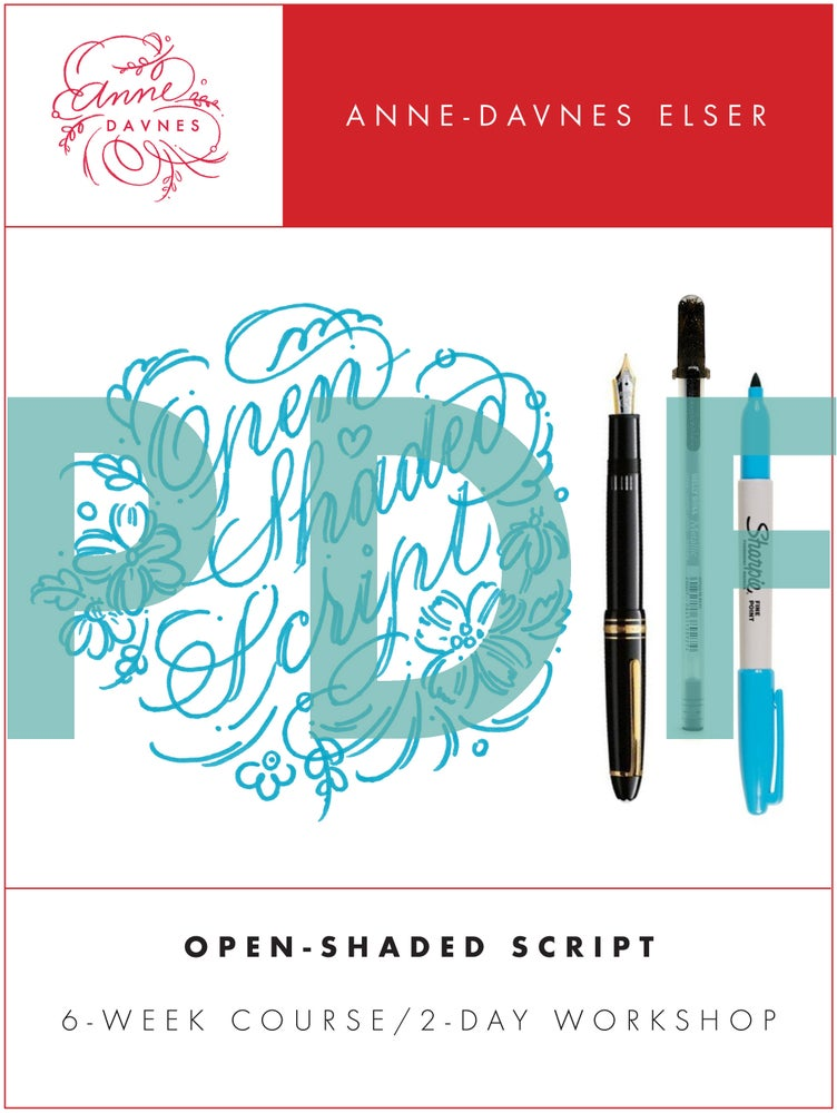 Image of Open-Shaded Script 2.0 Exemplars PDF Download