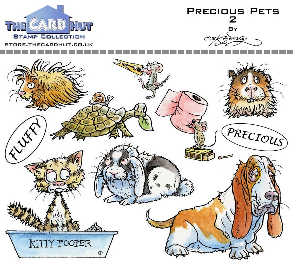 Image of Mark Bardsley Pets stamp collection