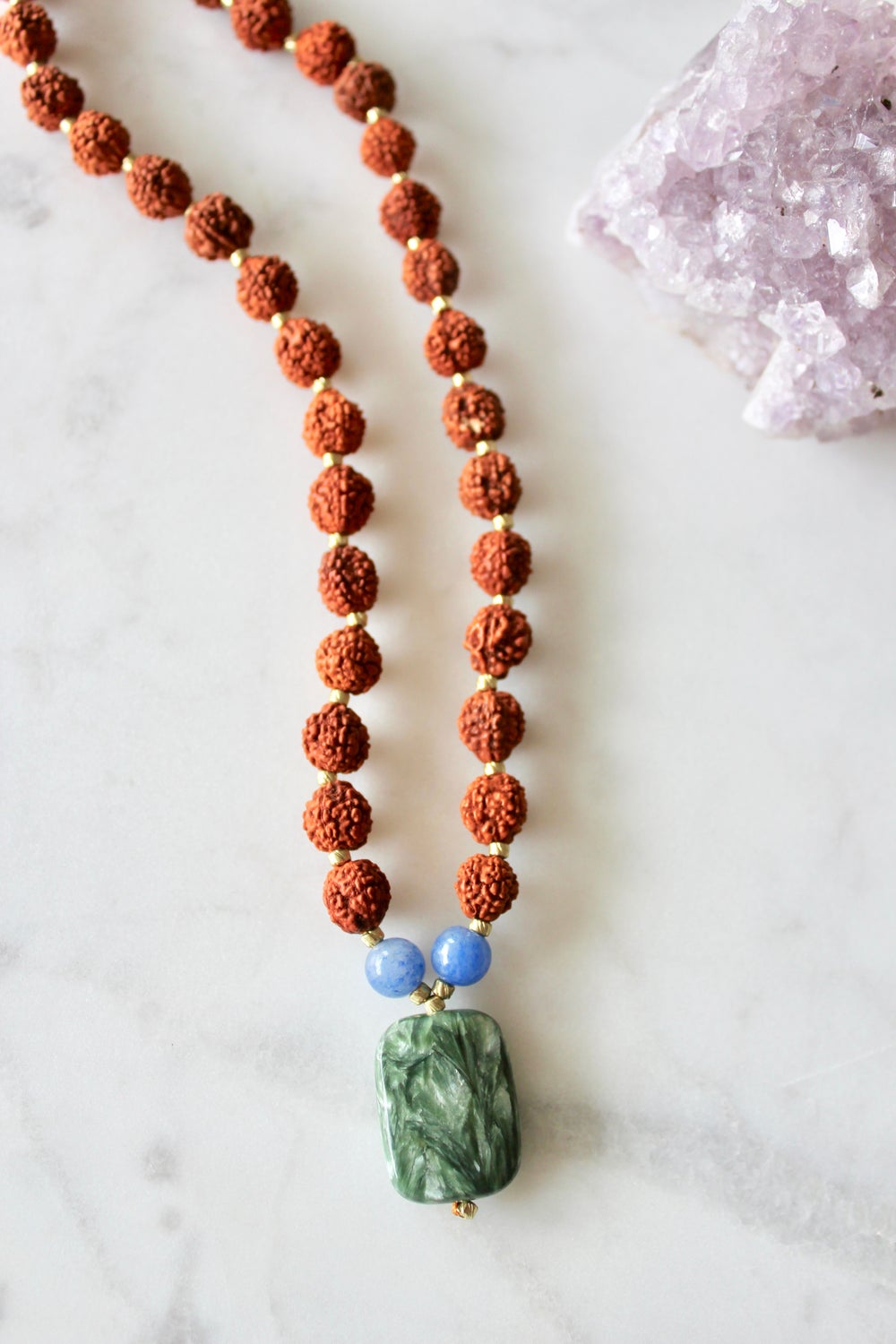 Image of Angel Wings Mala