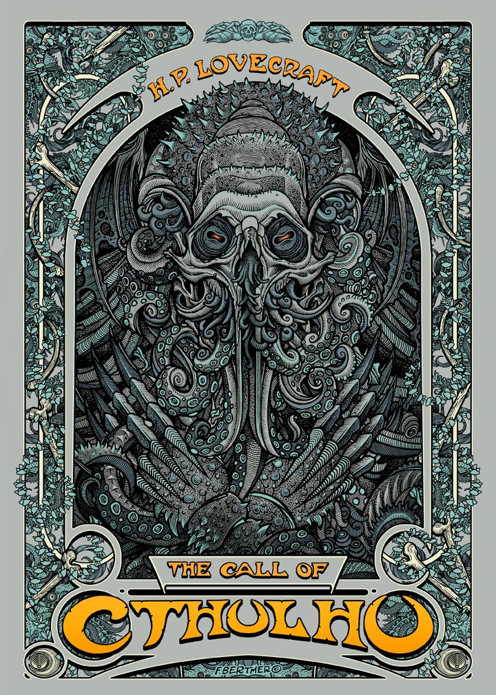 "Image of ""Call of Cthulhu"" Giclee Print"