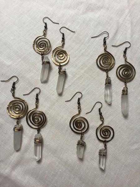 Image of Quartz Spirals