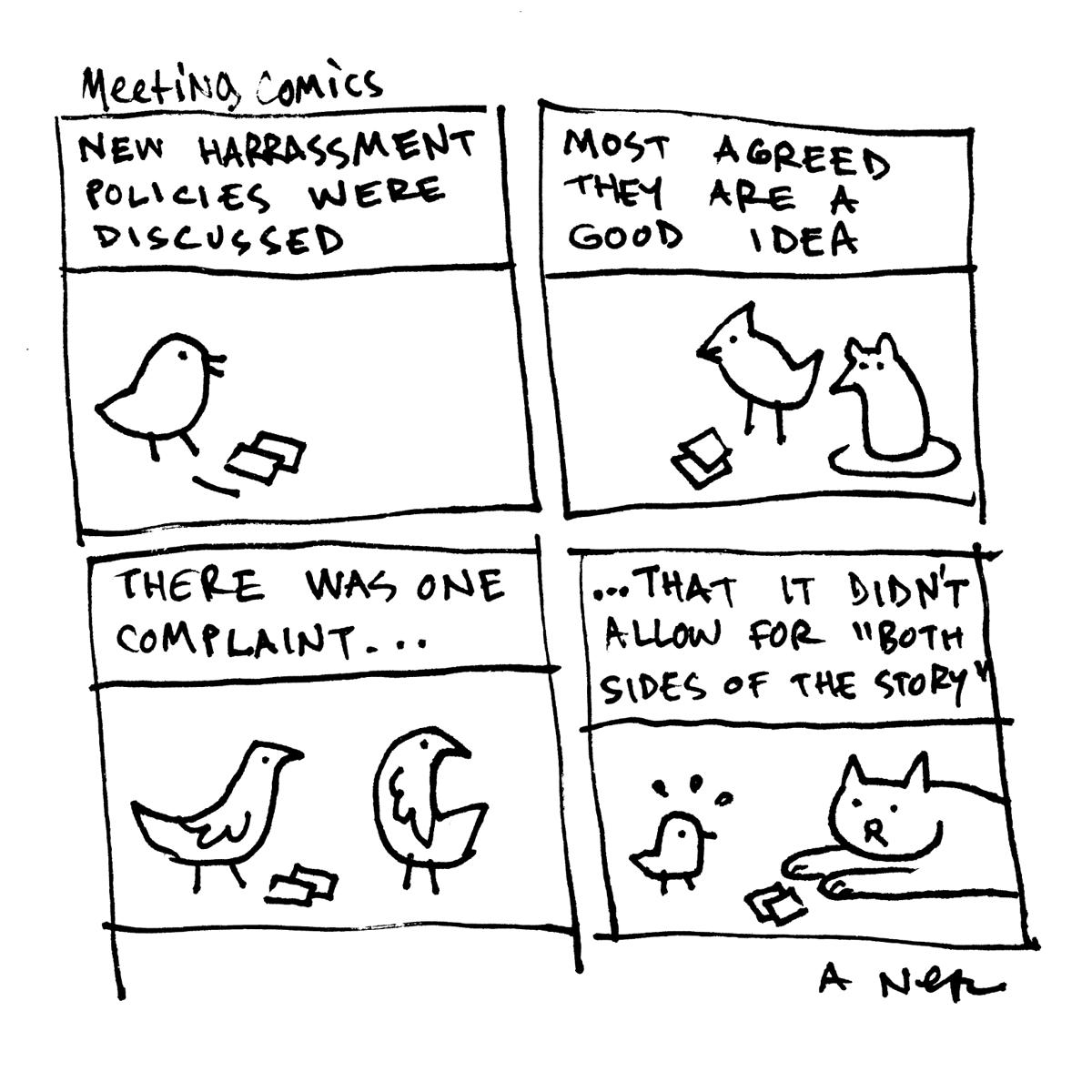 Image of Meeting Comics #1