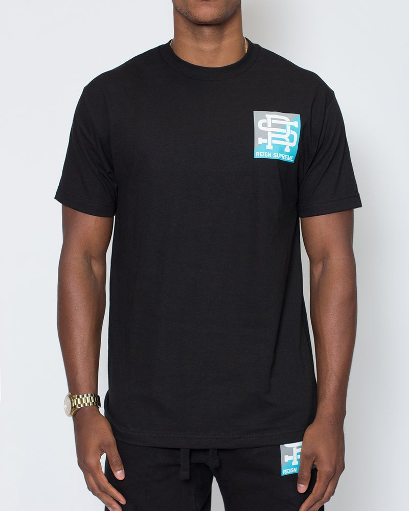 Image of Half-Full Tee (Black)