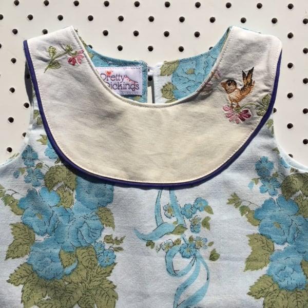 Image of Sweet Stitches dress - size 1 - little bird