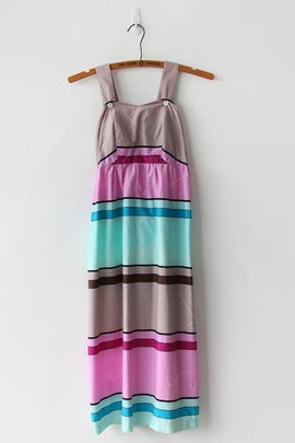 Image of Stripes And Angles Weekend Dress