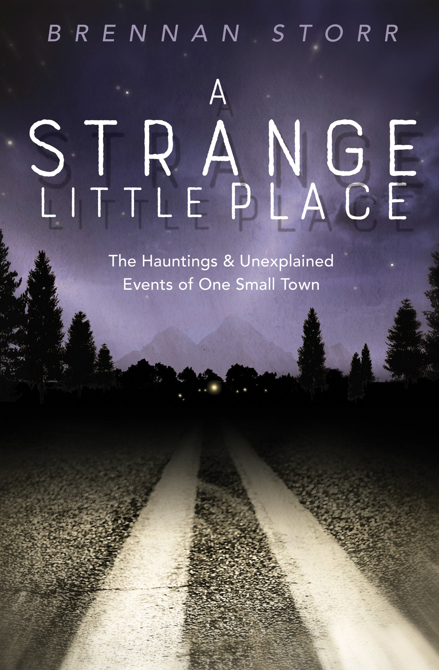 "Image of Signed copy of ""A Strange Little Place"""