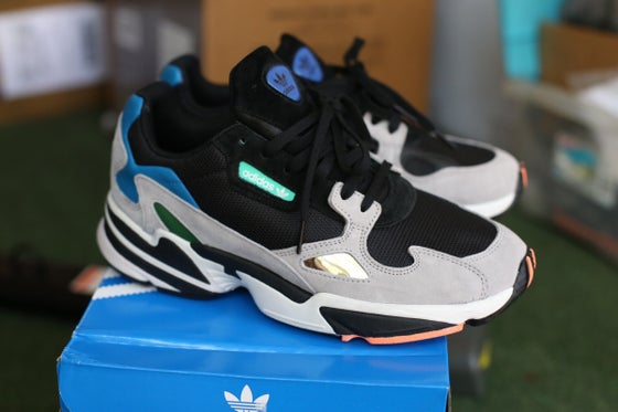 Image of Adidas falcon custom 🌊🌊