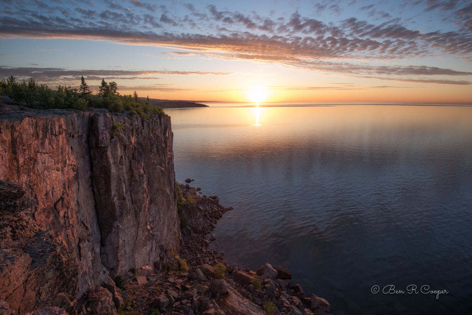 Sunrise from Palisade Head