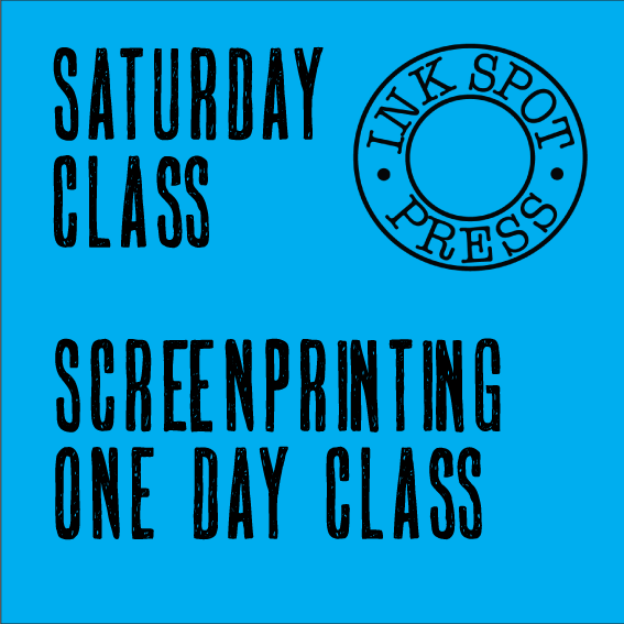 Image of SATURDAY SCREENPRINT. 5th Dec. 2020. 11am. - 5pm. £80.00.
