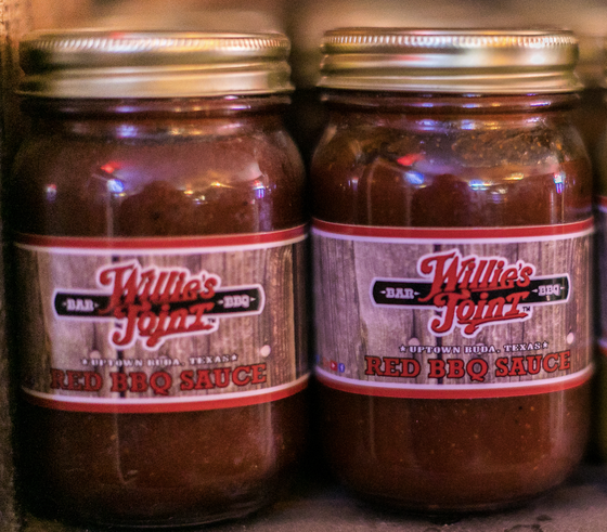 Image of Willie's Joint Red BBQ Sauce