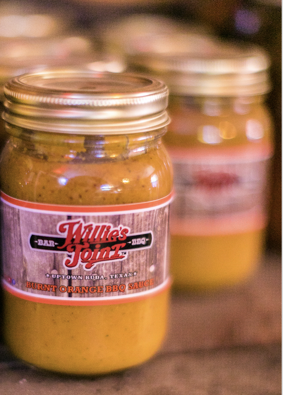 Image of Willie's Joint Burnt Orange BBQ Sauce