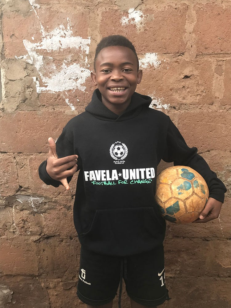 Image of Favela United Sweater Black