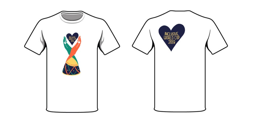 Image of Inclusive World Cup T-shirt White