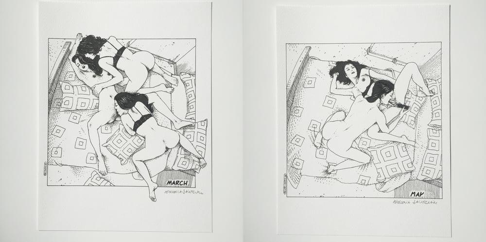 Image of ORIGINAL INK DRAWING Volume Two