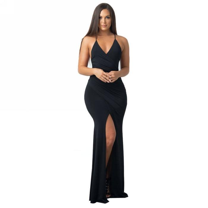 Image of Shona Dress - Black