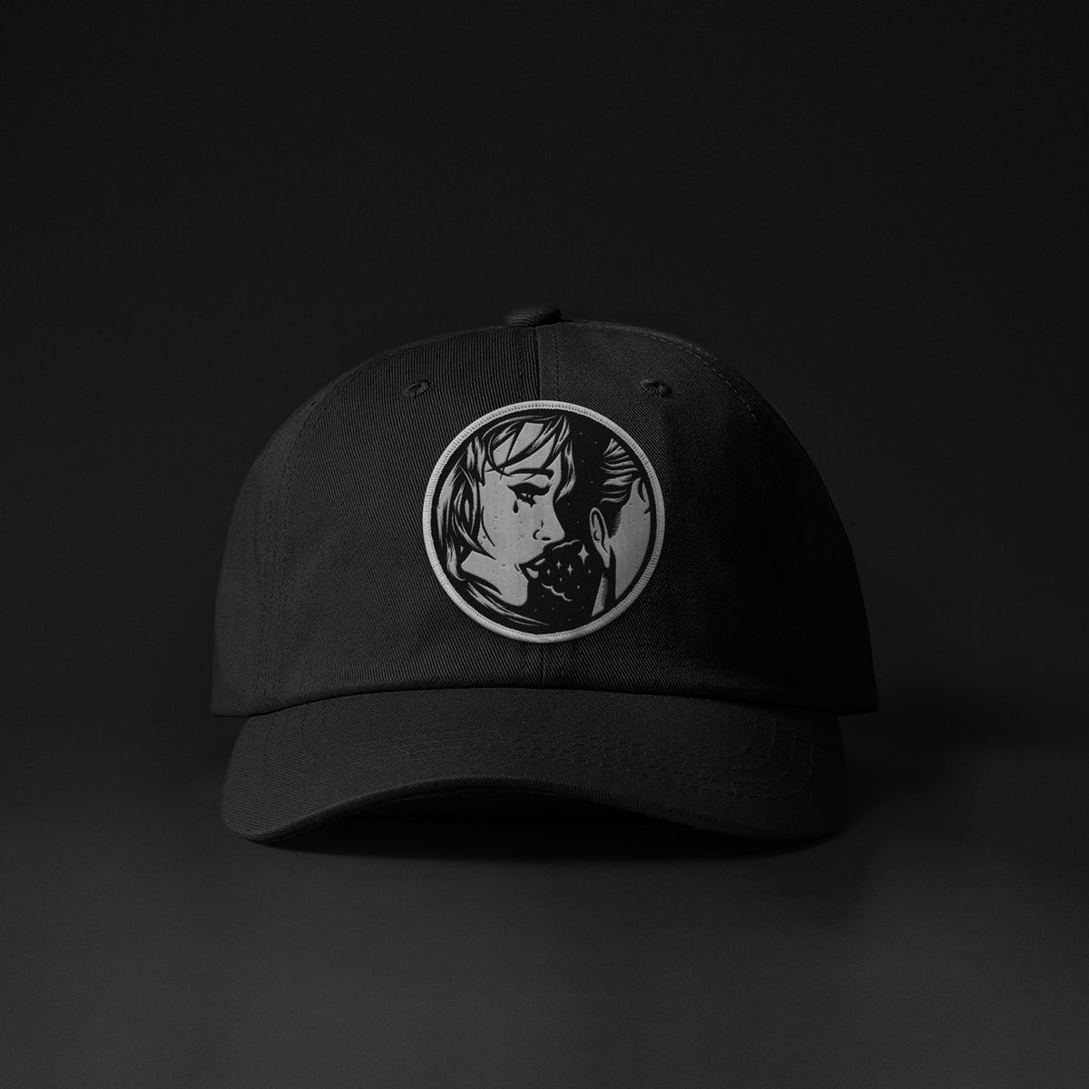 "Image of ""S//O//S"" EMBLEM DAD CAP"