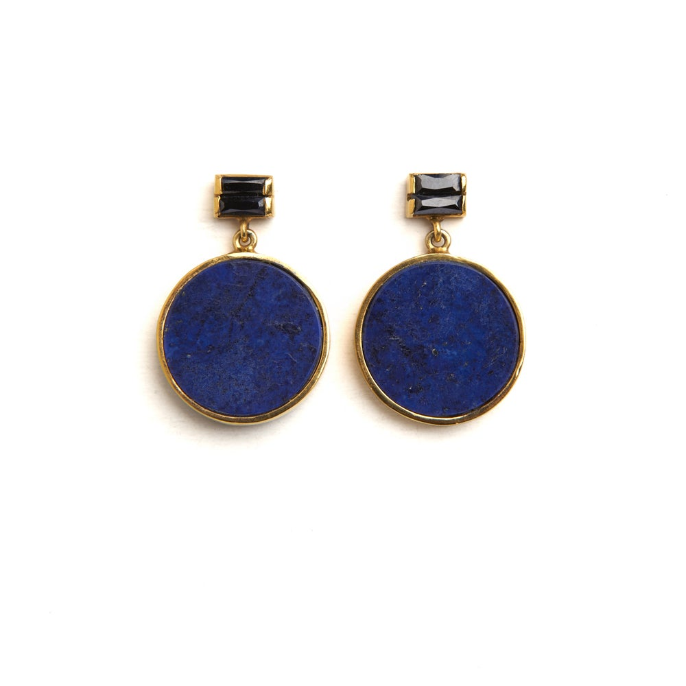 Image of The universe earrings