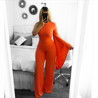 Image of Antonia one sleeve jumpsuit