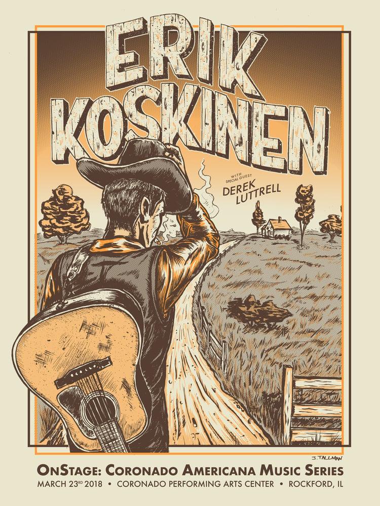 Image of Erik Koskinen poster