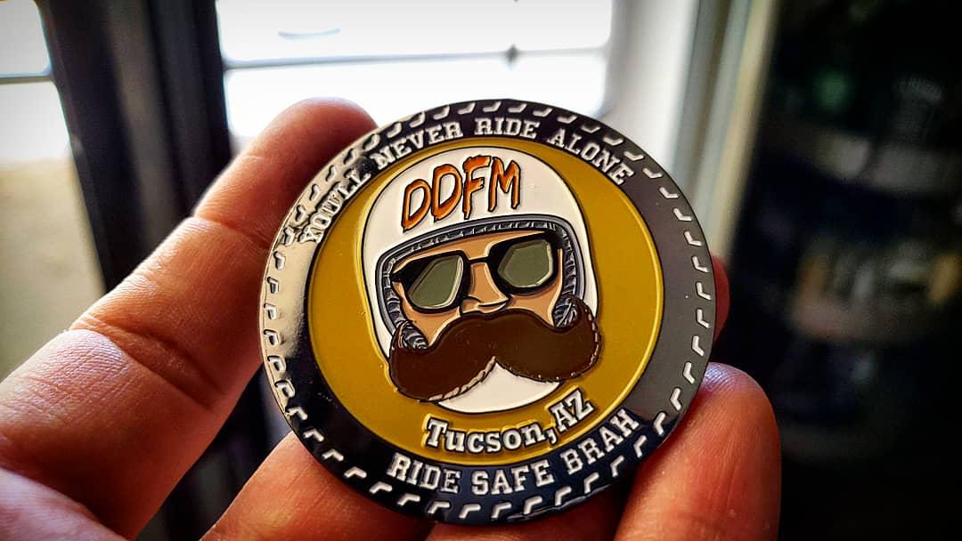 Image of DDFM Challenge Coin