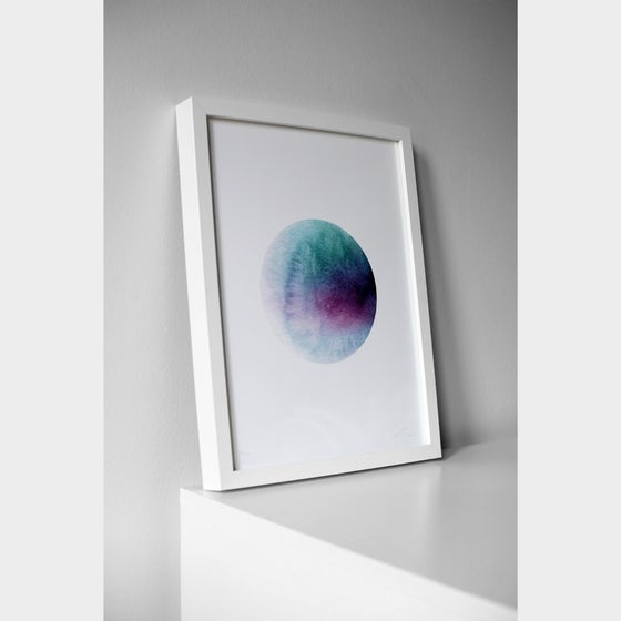 Image of DOT purple/green  (A3 Print)