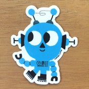 Image of robot sticker #4