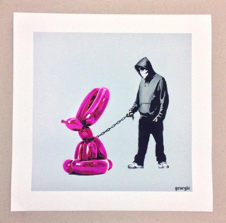 Image of Choose your balloon- Gicée print