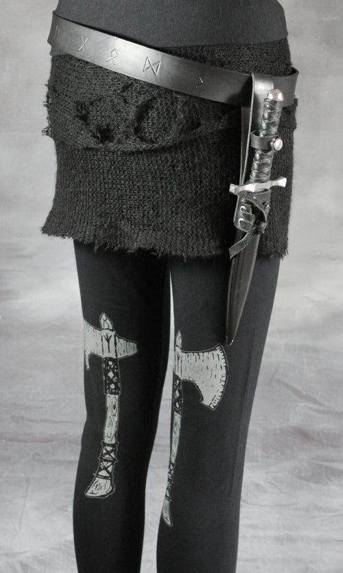 Image of MTO DÖKKÁLFR LAYERING SKIRT