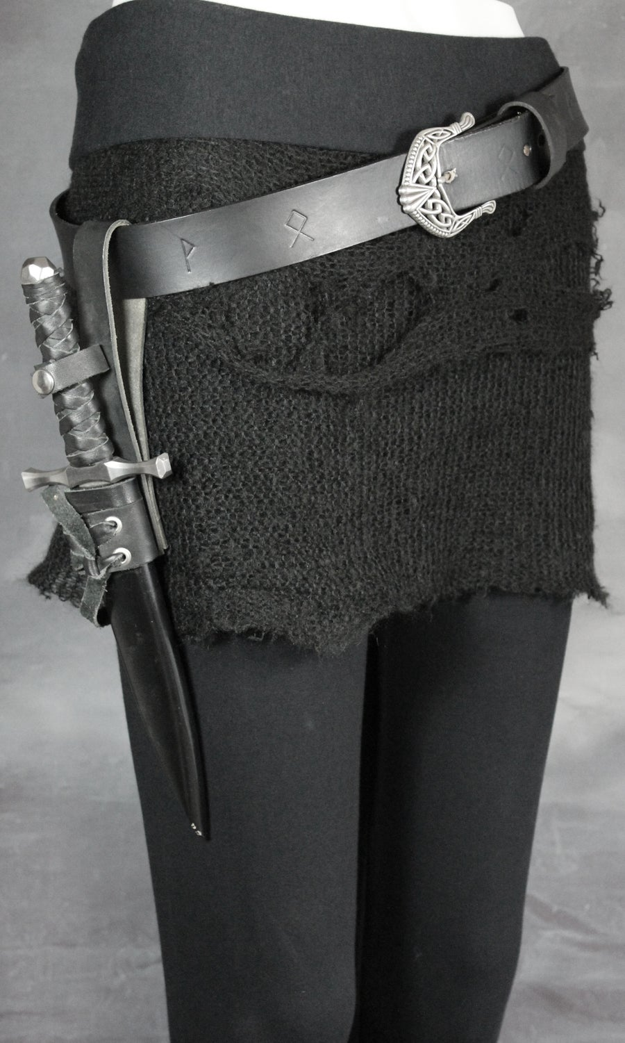 Image of DÖKKÁLFR LAYERING SKIRT