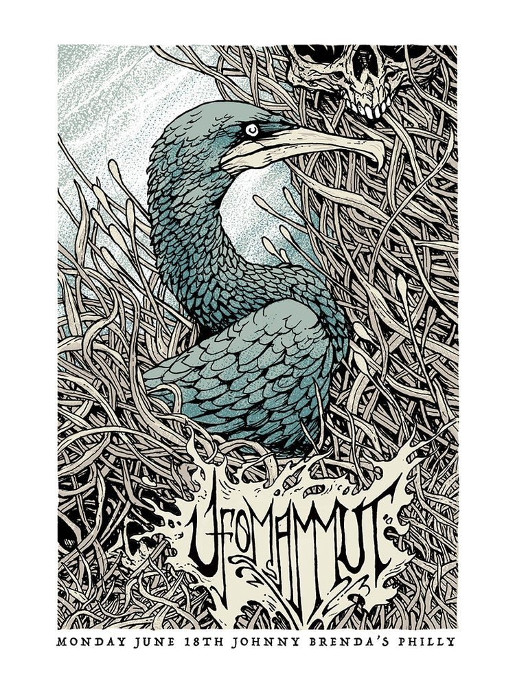Image of Ufomammut Gigposter